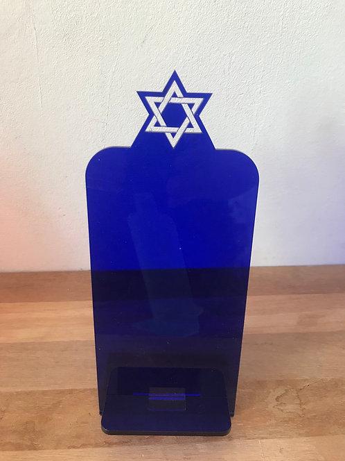 Suporte de celular personalizado Estrela de Davi