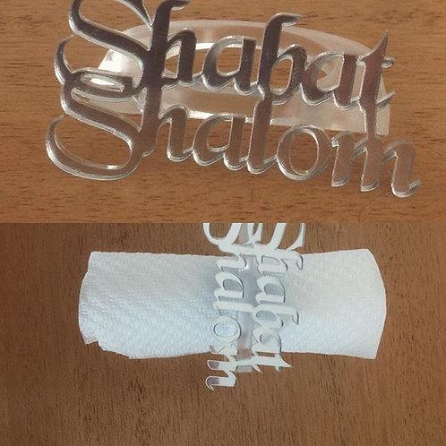 Porta guardanapos individual Shabat Shalom