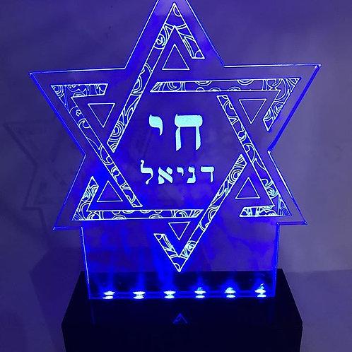 Luminária Estrela de David
