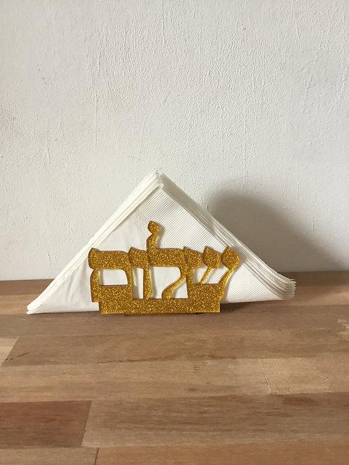 Porta guardanapo shalom