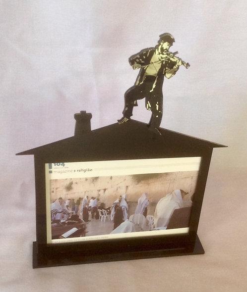 Porta retrato Violinista no Telhado