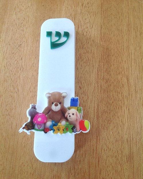 Mezuzá  Ursinho e brinquedos