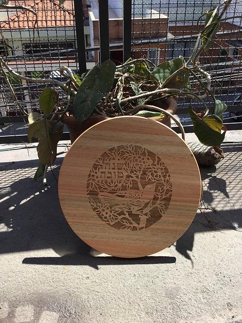 Tábua de eucalipto 35CM