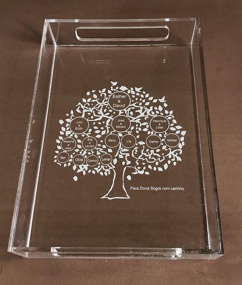 Bandeja árvore genealógica