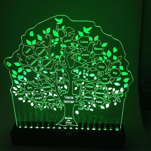 Luminária Arvore da vida