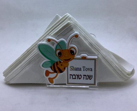Porta guardanapo abelhinha