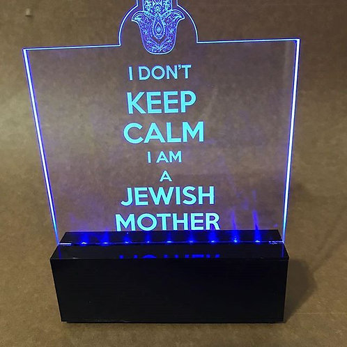 Luminária Jewish Mother