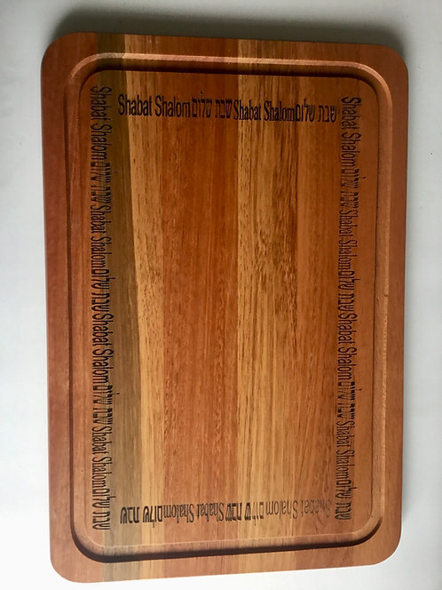 Tábua de madeira para chalá