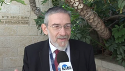 Rabbi Michael Melchior Speaking at F