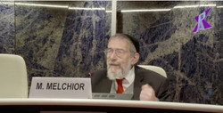 R' Melchior at Global Summit- Geneva