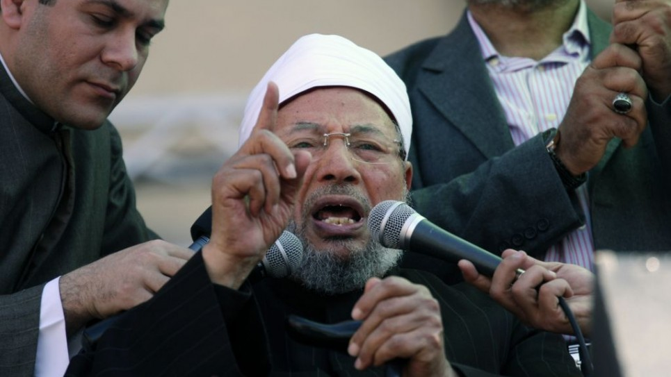 Sheik Yusuf al-Qaradawi's new stand