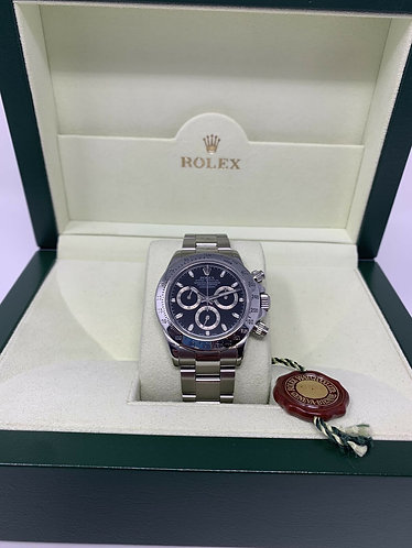 Rolex Daytona Stainless Steel Full Set Box & Papers 116520