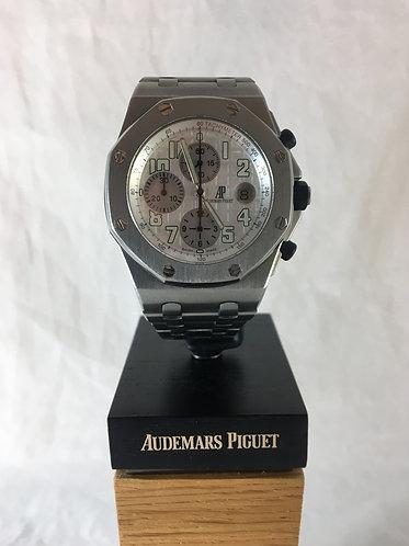 Audemars Piguet Royal Oak Offshore Titanium with Guilloche Dial