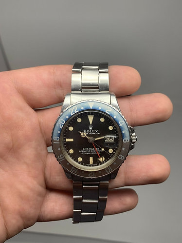 Rolex GMT-Master 1675 Creamy Dial with Original Faded Bezel