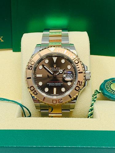 "Rolex Yacht-Master 126621 Rose Gold Chocolate dial 40MM ""UNWORN"""