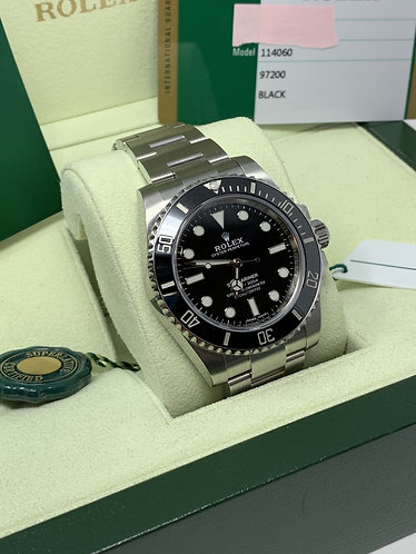 Rolex Submariner Ceramic Bezel No Date 114060 *UNWORN*