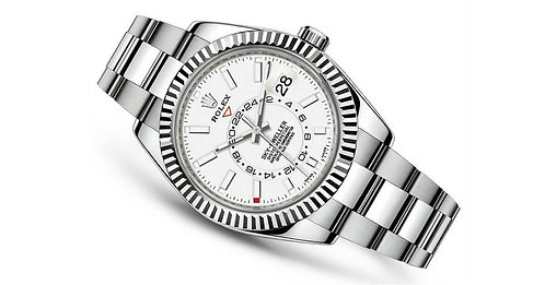 *NEW* Rolex Sky-Dweller 326934 Steel White Dial Oyster Perpetual Watch Full Set