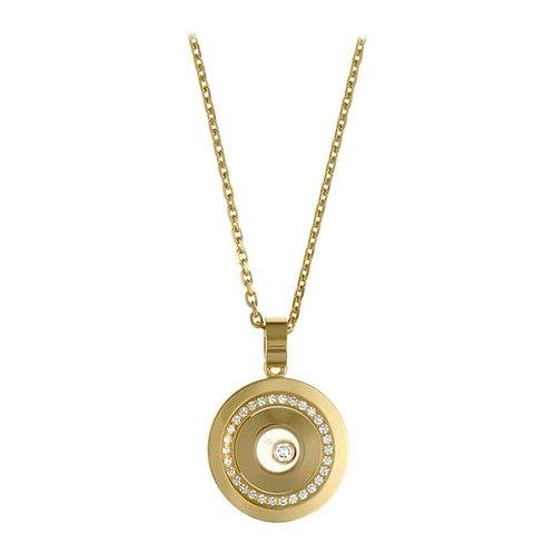 Chopard happy spirit diamond single stone pendant