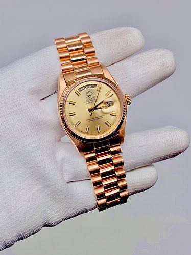 Rolex President Day-Date Rose Gold