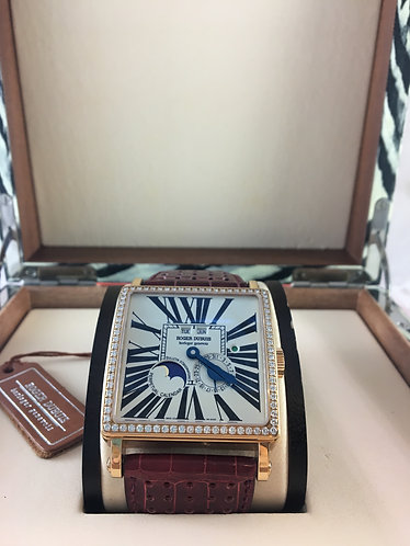 Roger Dubuis Golden Square G40 57395S D57ADB Rare 40mm