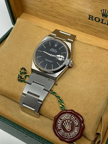 Rolex Datejust Oysterquartz Black Dial Ref. 17000
