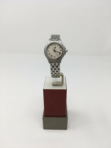 Cartier Cougar Panthere Stainless Steel Ladies Small