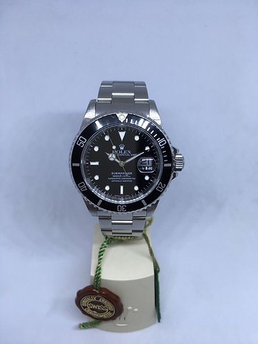Rolex Submariner Ref.16610 Stainless Steel Black Dial & Bezel FULL SET