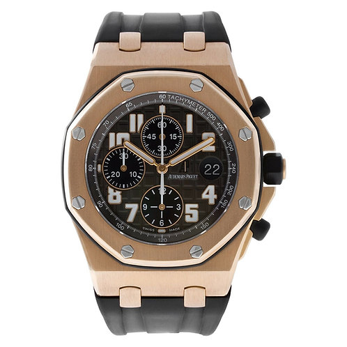 Audemars Piguet Royal Oak Offshore Chronograph 5620 18K Rose Gold Gray dial