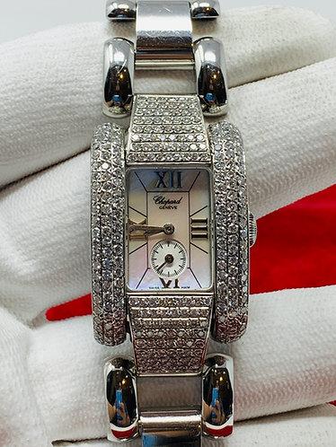 Chopard La Strada Ref. 8357 w/ MOP Dial, Diamond Bezel, & Diamond Lugs