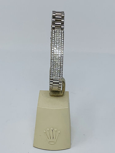 18K White Gold  Diamond Bracelet *Top Quality!*