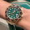 Thumbnail: Rolex GMT-Master II Yellow Gold Green Dial