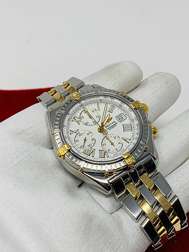Breitling Crosswind B13055 White Dial w/ Roman Numerals *MINT CONDITION*