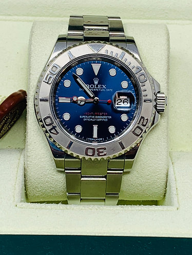 Rolex Yachtmaster 116622 40MM Blue Dial