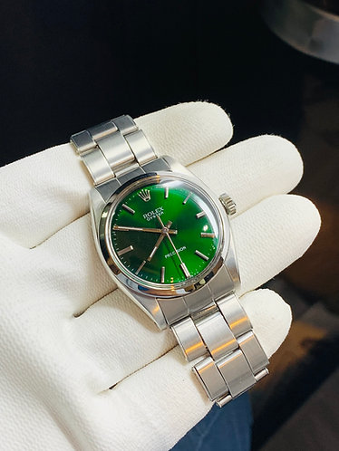 Rolex Oyster Precision Ref. 6426 Green Dial