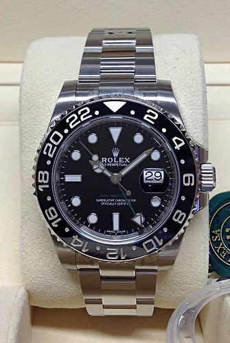 Rolex GMT Master II Black Dial