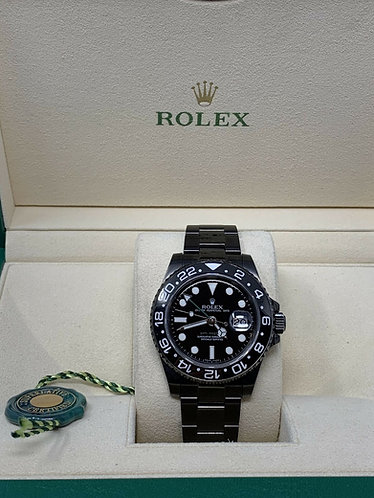 ROLEX GMT Master II Ceramic & Stainless Steel 116710 PVD Coating