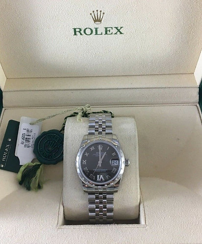 Rolex Midsize Lady Datejust Ref. 178344 Jublee Diamond Bezel