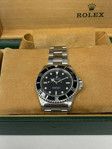 Rolex submariner Swiss only dial Full Set