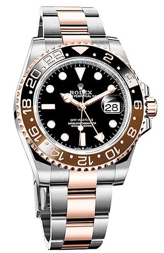 Rolex GMT Master II 40MM Two-Tone Rose 126711CHNR