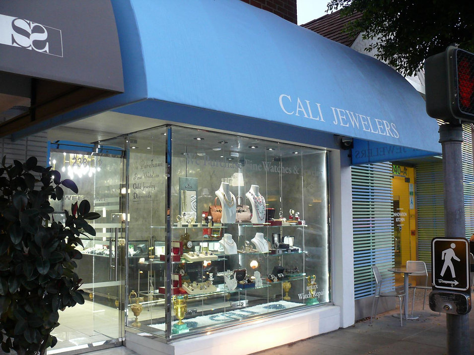Cali Jewelers Store Front located in Beverly Hills