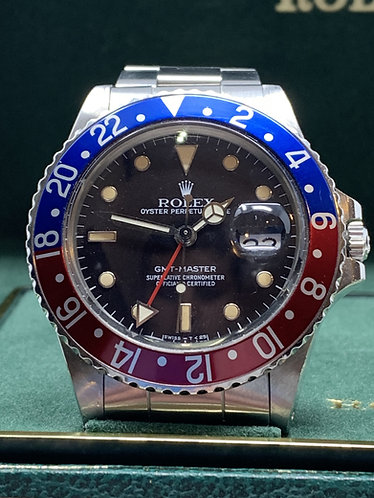 Rolex GMT-Master 16750 All Original Creamy Dial *UNPOLISHED*