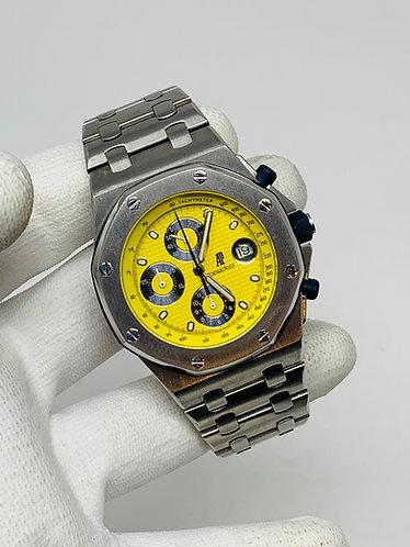 Audemars Piguet Royal Oak Offshore Chronograph Rare Yellow Themes Dial