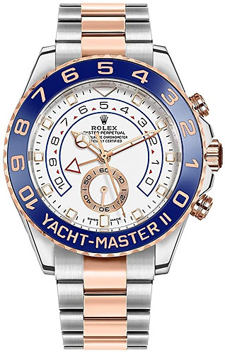 Rolex Yacht-Master II Oystersteel and Everose Gold 116681