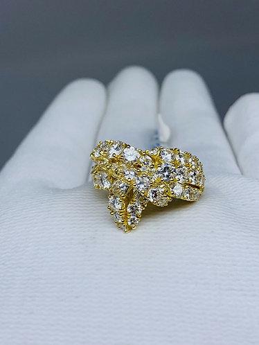 18K Yellow Gold Piaget Diamond Ring