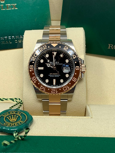 Rolex GMT Master II Rootbeer Two-Tone Rose Ref. 126711