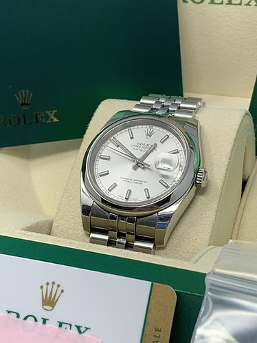 Rolex Datejust Stainless Steel 116200 Full Set *Only One Owner*