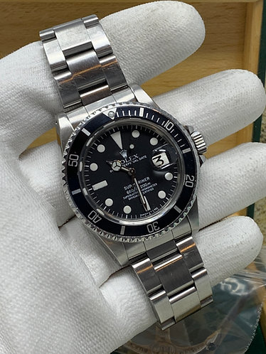 """Rolex Submariner 1680 40MM With Original box and Booklets """"ONE OWNER"""""""