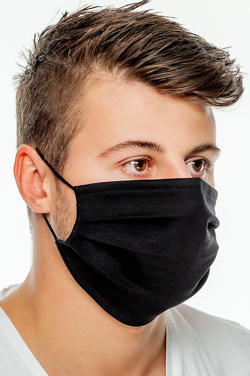 Community Masken 100% Baumwolle  Single Jersey zweilagig in 14 Farben