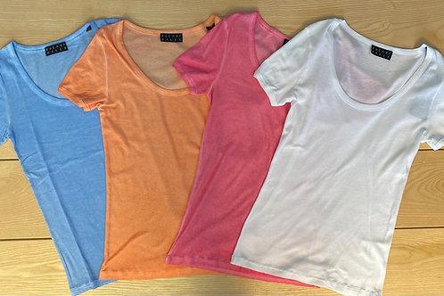 Artikel 10101A T-Shirt 100% Baumwolle kaltgefärbt