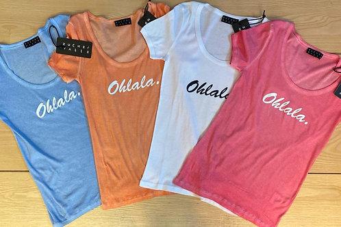 Artikel 10101 T-Shirt 100% Baumwolle kaltgefärbt